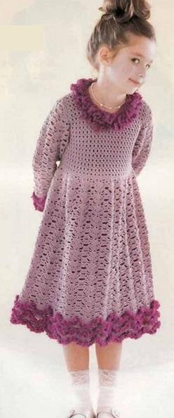 Схема платья для девочки