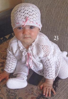 вязание спицами вязание шапки малышам до года