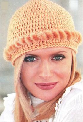 вязанная норвежская шапка
