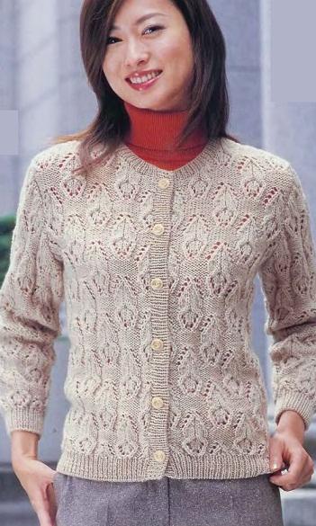 Схема вязания кофточки для девочки спицами 2 года