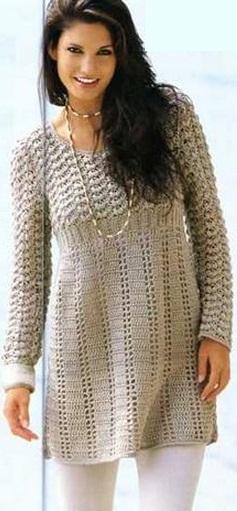Платье - туника схема